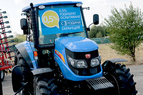Promotion of ISEKI TJA 8100 tractors on lease with 0.5% increase and extended warranty