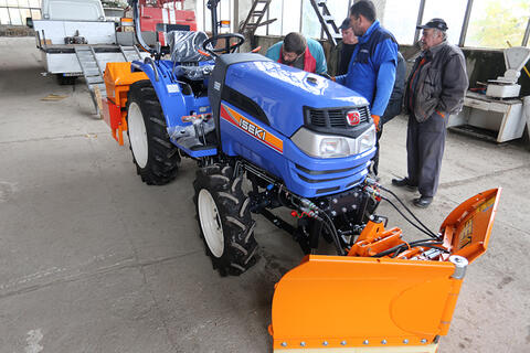 ISEKI - the leader in solutions for snow removal (VIDEO)