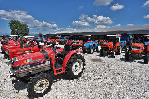 Skytrak confirmed its position as the leading importer of Japanese tractors