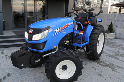 The new ISEKI TLE tractors with official premiere in Bulgaria during AGRA 2018